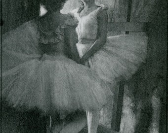 """Robert Demachy Photo """"Behind the Scenes"""" 1904 Ballet dancers"""