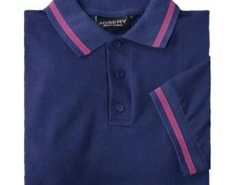 Striped Polo Shirt Etsy