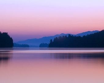 Adirondack Sunrise Print, Sunrise Photography, Long Lake Sunrise, Adirondack Fine Art Photography, Nature Photography, Long Lake, Sunrise
