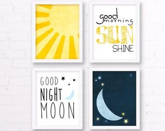 Good Night Moon Etsy