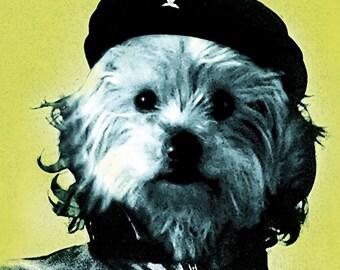 Che Guevara - with custom pet portrait