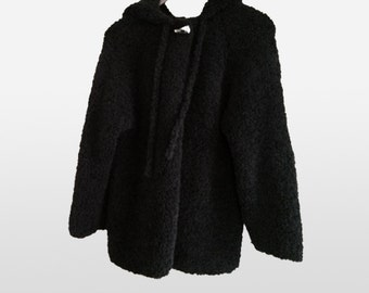 mom's darling / hand-knitted coat for woman