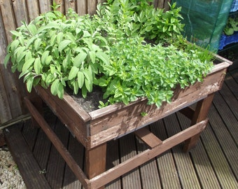 Raised Herb Planter