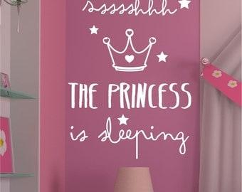 Children's vinyl The Princess is sleeping