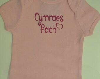 Welsh Baby T-Shirt - Cymraes Fach