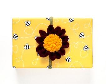 Bee Gift Wrap