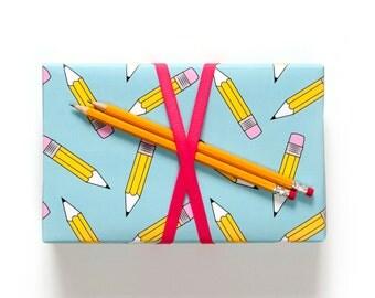 Pencil Gift Wrap