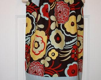 Girls Pillowcase Dress Size 2/3 T with Flower Headband