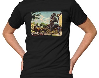 Gorilla Transport T-Shirt - Funny Gorilla TShirt - Mens and Ladies Sizes Small-3X