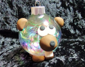 Beaver Ornapet Ornament