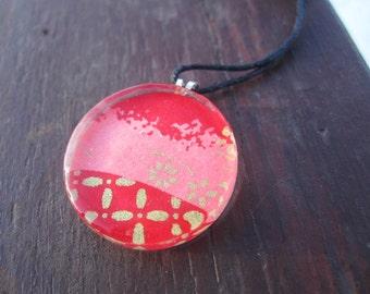 Glass Tile Necklace