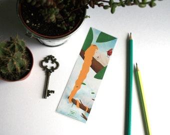 Rapunzel - illustrated bookmark