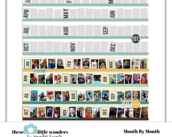 Month By Month Template
