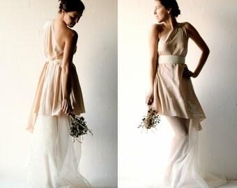 Wedding dress, Boho wedding dress, Beach wedding dress, Hippie wedding dress, Bohemian wedding dress, Blush wedding dress, alternative dress