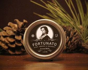 Fortunato - Pine, Smoke and Whiskey Scented Balm