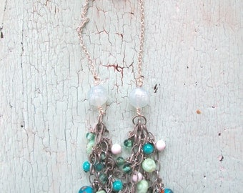 Summery Necklace - Waterfall