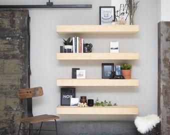 48 inch Veronica floating shelf, single shelf