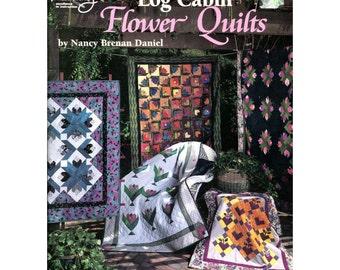 Log Cabin Flower Quilts Pattern Book by Nancy Daniel - ASN 4167