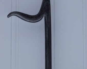 "hand forged fireplace poker 30"" by Pa Blacksmith Arkiron"