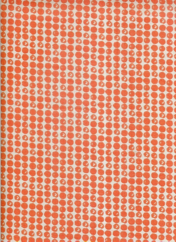 50cm x 112cm Rock Dots cotton fabric by Umbrella Prints