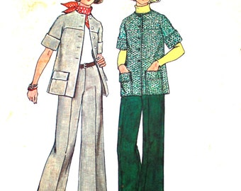 Jiffy Jacket Pattern Bust 34 Simplicity 6529