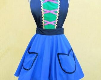 ANNA  apron for womens princess apron