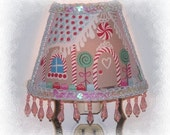 Gingerbread House Pink Christmas NIGHT LIGHT Kitchen Girls Room Holiday Gift