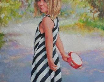 Modern Custom Oil Portrait Painting