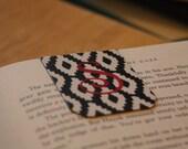 Personalized Monogram Magnetic Bookmark