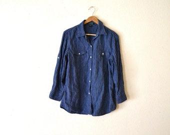 """90's """"Ralph Lauren"""" Indigo Shirt..."""