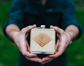 Flask | Wooden ARROW Design