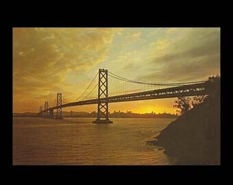 San Francisco - Oakland Bay Bridge Giant Postcard