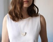 Twofold Necklace - Natural White