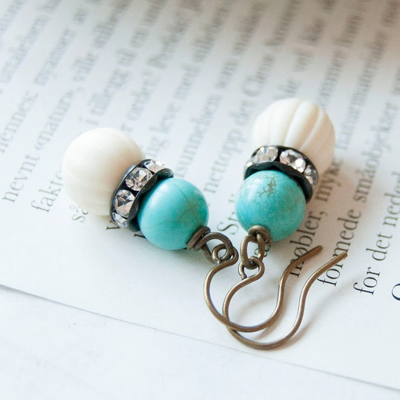 Lily - bridesmaids earrings