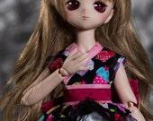 Cupcakes to Order Fancy Casual Kimono for MSD Luts Kid Delf Mini Dollfie Dream MDD