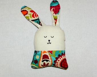 Bunny Plush / Stuffed Animal / Rabbit / Handmade Doll / Easter Decor