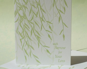 Willow Sympathy and Note Card