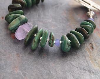 Chunky Southwest Turquoise Bracelet