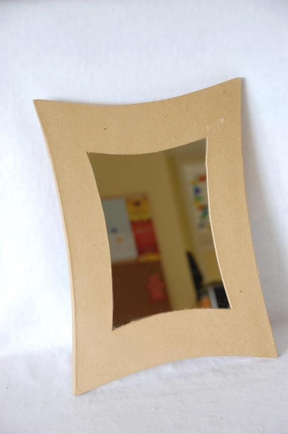 Paper Mache Ractangular Shaped Edge Mirror Frame