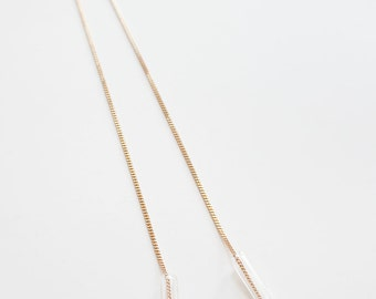 Minimal Glass Tube Necklace No. 2
