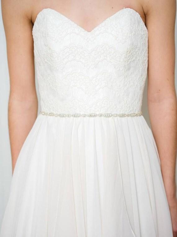 market thin wedding belt