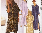 Woman's Caftan in 3 Lengths size 18W - 24W McCall's UNCUT  Pattern 2525
