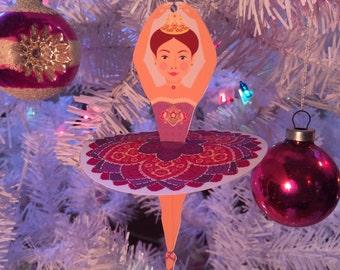 Ballerina Sugar Plum Fairy Ornament Decoration PDF
