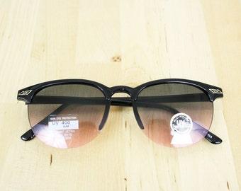 VINTAGE | Sunglasses Clubmaster Frames / Vintage Deadstock Plastic Sunglasses SG1208