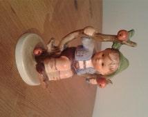 Goebel Hummel Apple Tree Boy 142 3/0 TMK-3, Porcelain, Germany