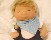 Oliver - OOAK Waldorf Inspired Tiny Baby Doll - FREE shipping to USA