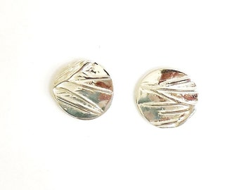 Sterling prairie grass earrings, botanical replica, great plains gift, midwestern accessory