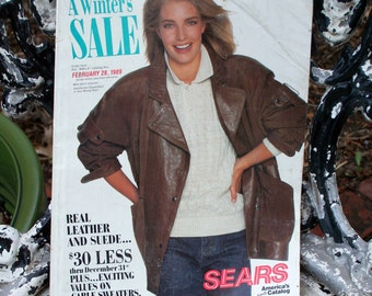 Vintage Sears Seasonal Catalog - 1989 - Collectible