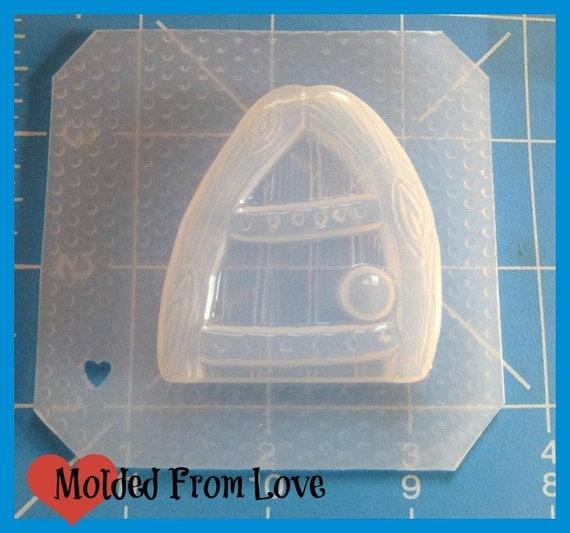 Sale raven 39 s little fairy door handmade plastic resin mold for Lil fairy door sale