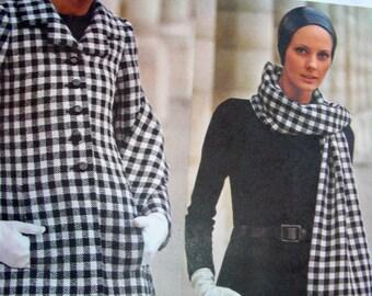 Vintage Vogue Paris Original Pattern 2092 *  Nina Ricci * STUNNING Evening Ensemble * UNCUT * Size 8